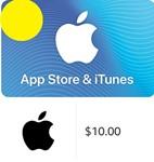 iTunes Gift Card $10 - USA (Digital Code)