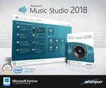 Ashampoo Music Studio 2018 (пожизненная лицензия)(Ключ)