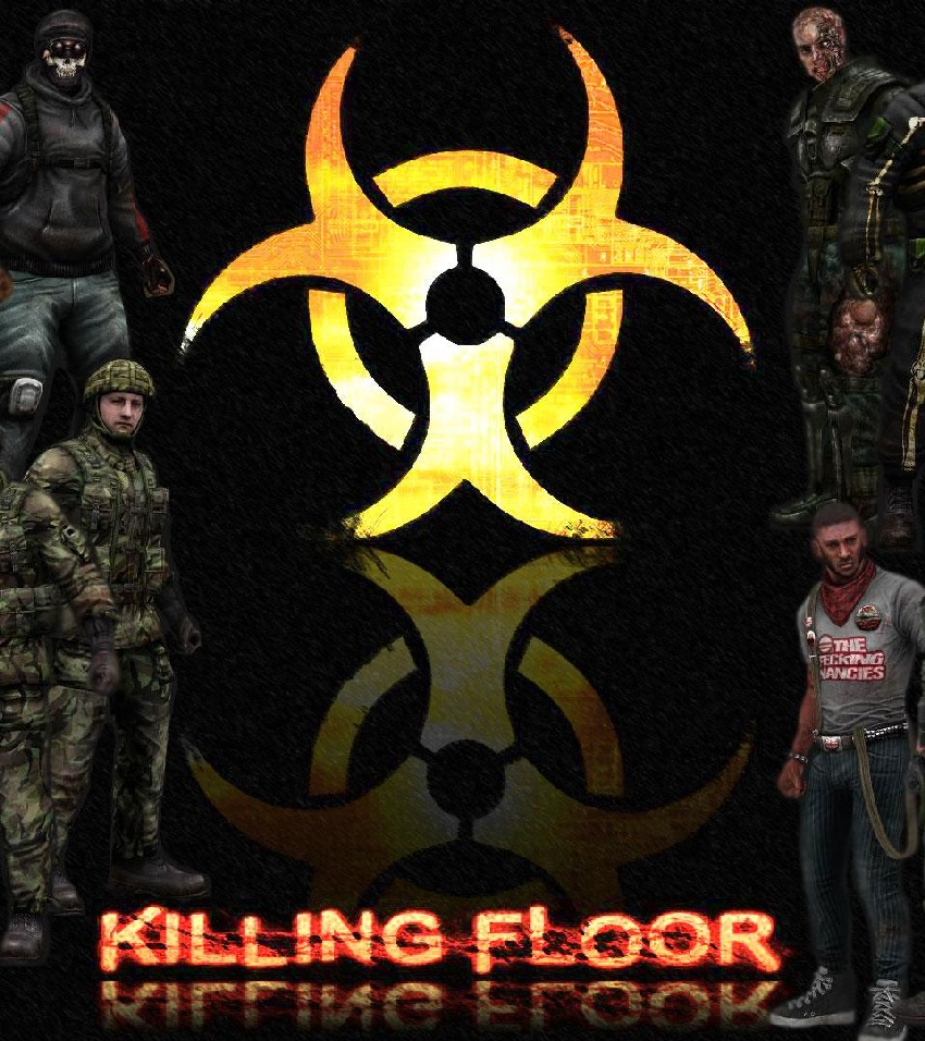 Killing Floor + 4 DLC (Steam key, Regin Free)