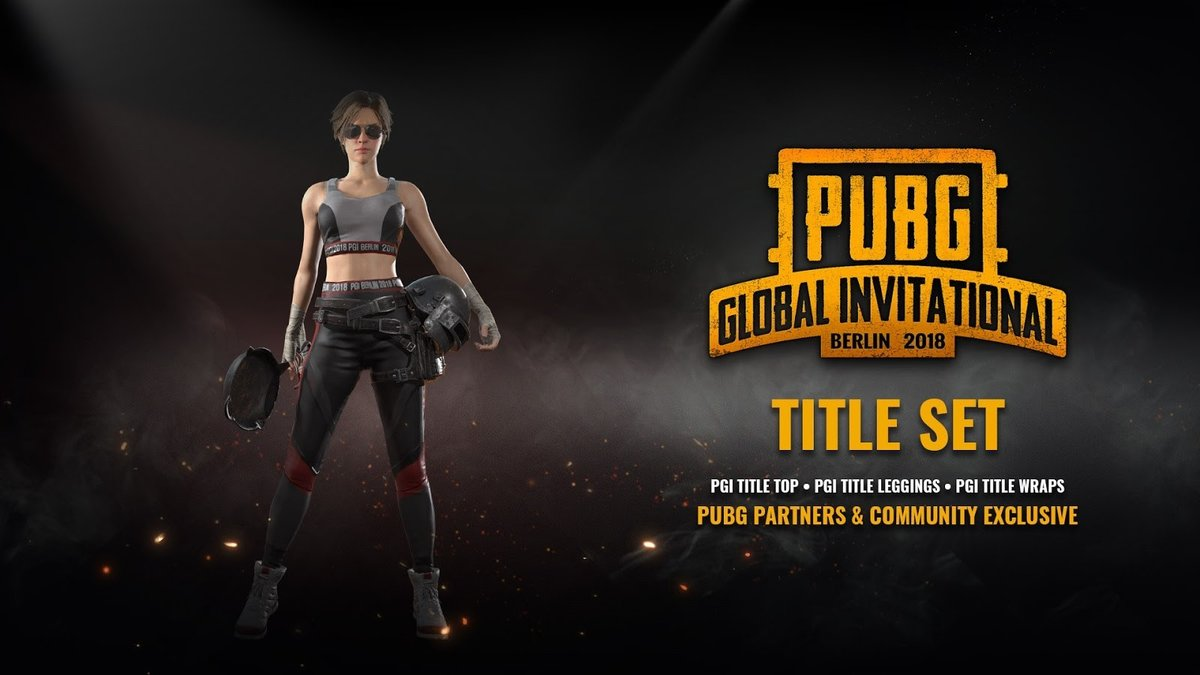 PGI TITLE SET PUBG - Region Free. LIMITED BOX - ACTION