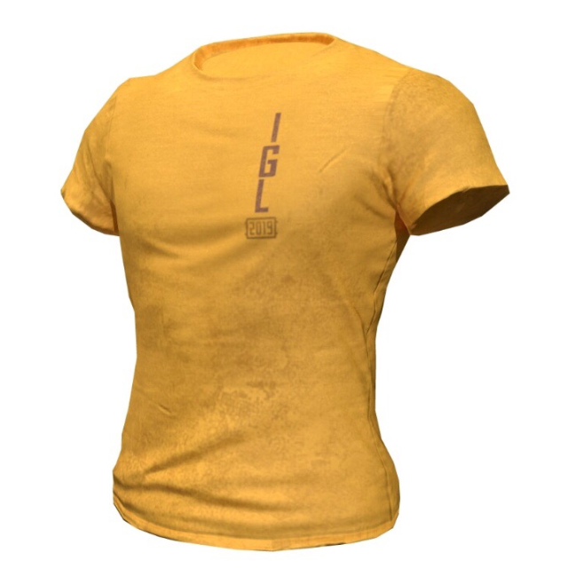 dd7a901f8b05b3 Buy IGL T-Shirt 2019 PUBG - Region Free. LIMITED - ACTION and download