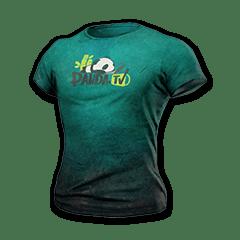 Panda TV T-Shirt Skin PUBG The Most Rare Thing. LIMITED 2019