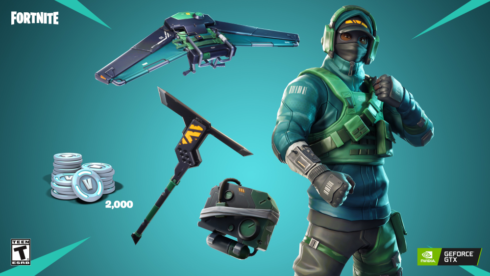 Fortnite Nvidia Bandle COUNTERATTACK SET+ 2,000 V-BUCKS