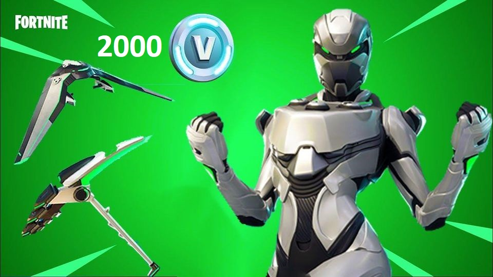 [FORTNITE] - Eon Skin Bundle + 2000 V-Bucks Xbox One