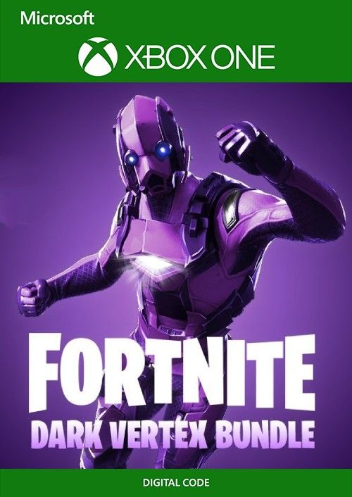 [FORTNITE] - Dark Vertex Skin + 2000 V-Bucks Xbox One