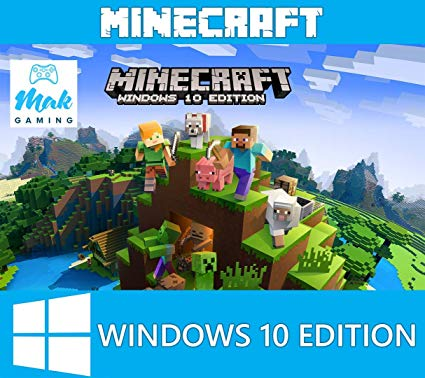 Minecraft: Windows 10 Edition. Licensed Global Key