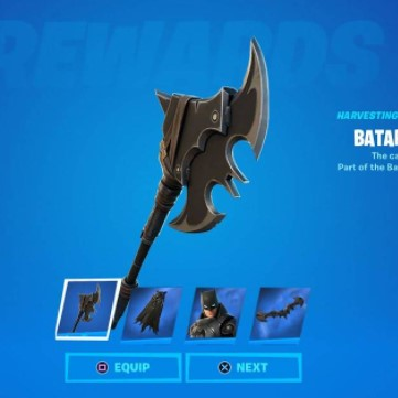 Фотография (fortnite) batarang axe pickaxe. global key