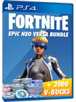 (FORTNITE) - Neo Versa + 2000 V-Bucks PSN PS4 + Акция