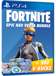 [FORTNITE] - Neo Versa + 500 V-Bucks PSN PS4