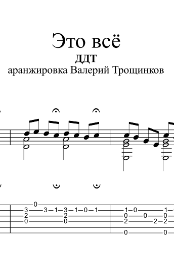 That´s all - DDT. Sheet music and tabs for guitar