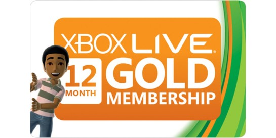 Xbox LIVE 12 Month Gold WORLDWIDE (все страны)