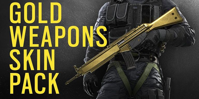 Tom Clancy´s Rainbow Six Siege Gold Weapons Skin Pack