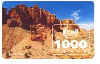 Kcell 1000 tenge instant recharge card