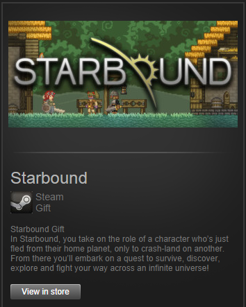 Starbound (Steam Gift, ROW)