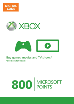 XBOX LIVE 800 MS Points EU/RU - ФОТО карты активации