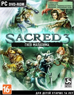 Sacred 3: Гнев Малахима [PC] Steam Key (RUS Reg)