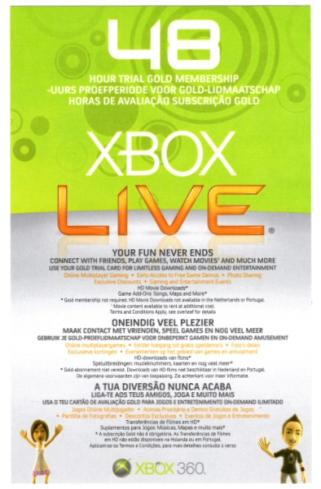 TOP XBOX LIVE GOLD 48 часов worldwide (RU/EU/US)