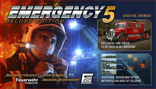 Emergency 5 - Deluxe Edition (Steam Gift RU + CIS)
