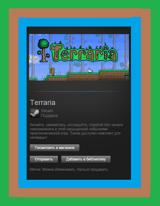 Terraria (ROW) - STEAM Gift - Region Free / WorldWide