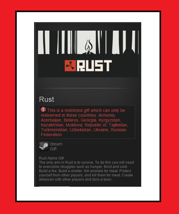 Rust (Steam Gift / RU)