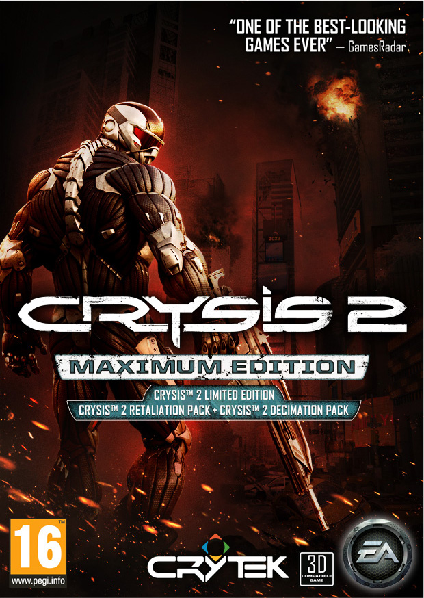 Crysis 2 Maximum Edition Origin Key