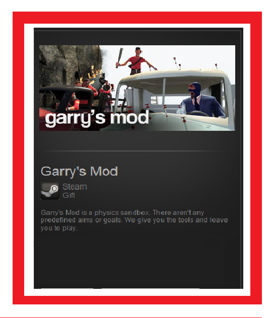 Garry´s Mod (Steam Gift / RU-CIS)