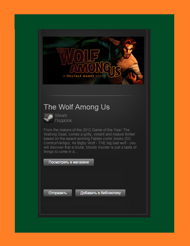 The Wolf Among Us - STEAM GIFT + REGION FREE