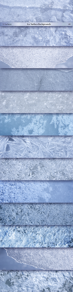 Ice Surface Backgrounds
