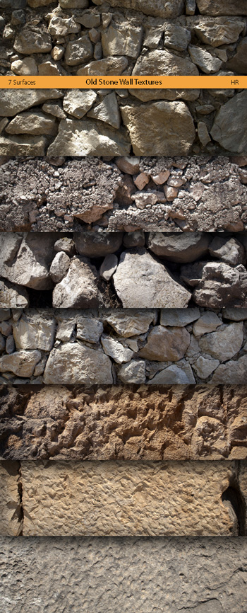 Old Stone Wall Textures