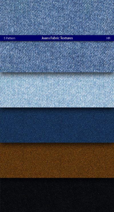 Jeans Fabric Patterns