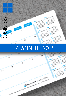 Business Planner Monthly Template 2015 (2014)