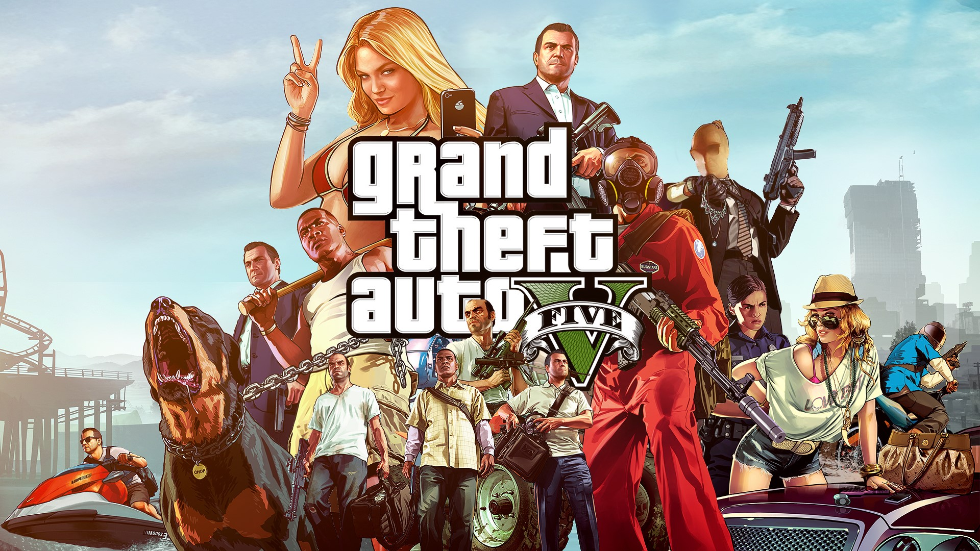 Grand Theft Auto 5 (GTA V) RU/CIS + Скидка