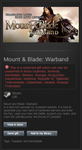 Mount & Blade Warband (Steam Gift, RU&CIS) + ПОДАРОК