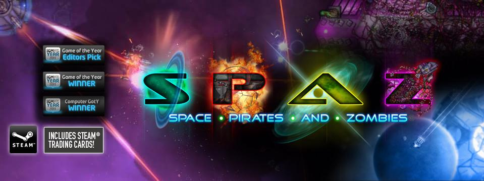 Space Pirates and Zombies (SPAZ) (Region Free) Steam