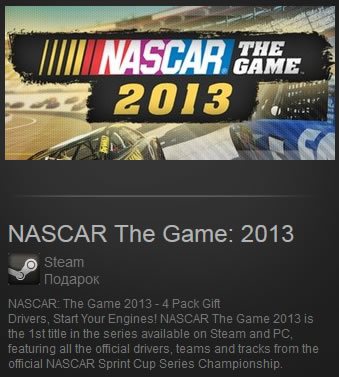 NASCAR The Game: 2013 (Region Free) Steam Gift