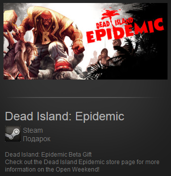Dead Island: Epidemic (Region Free) Steam Gift