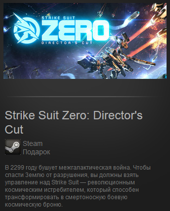 Strike Suit Zero Director´s Cut (Region Free)Steam Gift