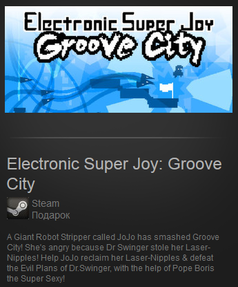Electronic Super Joy: Groove City (ROW Steam Gift)