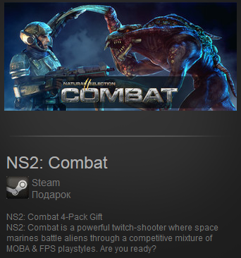 NS2: Combat (Region Free) Steam Gift