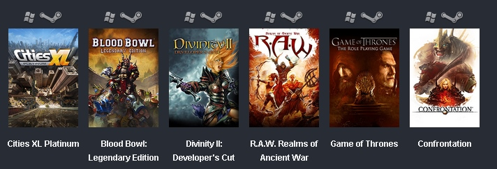 Купить The Humble Weekly Sale: Focus Home Interactive