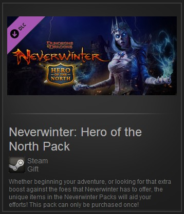 Neverwinter: Hero of the North Pack (Steam Gift ROW)