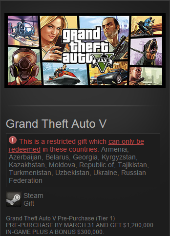 Grand Theft Auto V 5 (Steam Gift /RU&CIS)