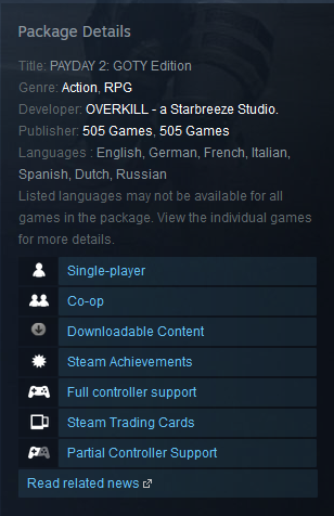 PAYDAY 2: GOTY Edition Steam Gift / RU & CIS / VPN