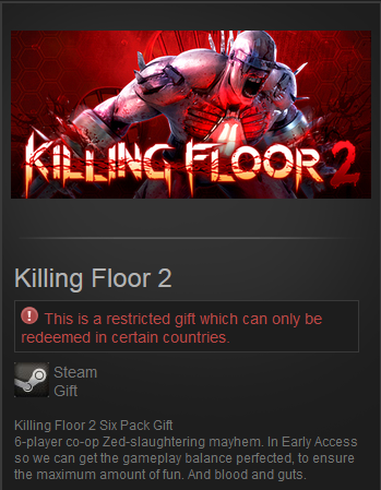 Killing Floor 2 (Steam Gift / RU&CIS) Early Access