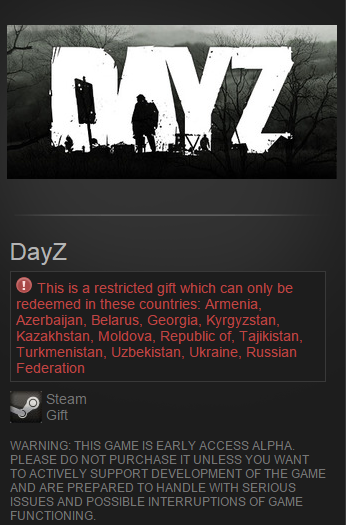 Day Z (Steam Gift / RU&CIS) Early Access