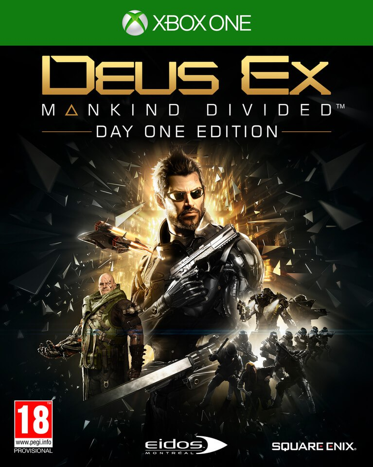 Deus Ex: Mankind Divided for Xbox ONE RENT