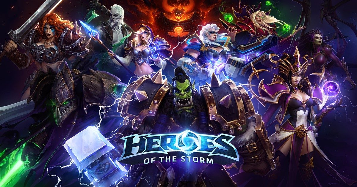 Account Heroes of the Storm + GIFT