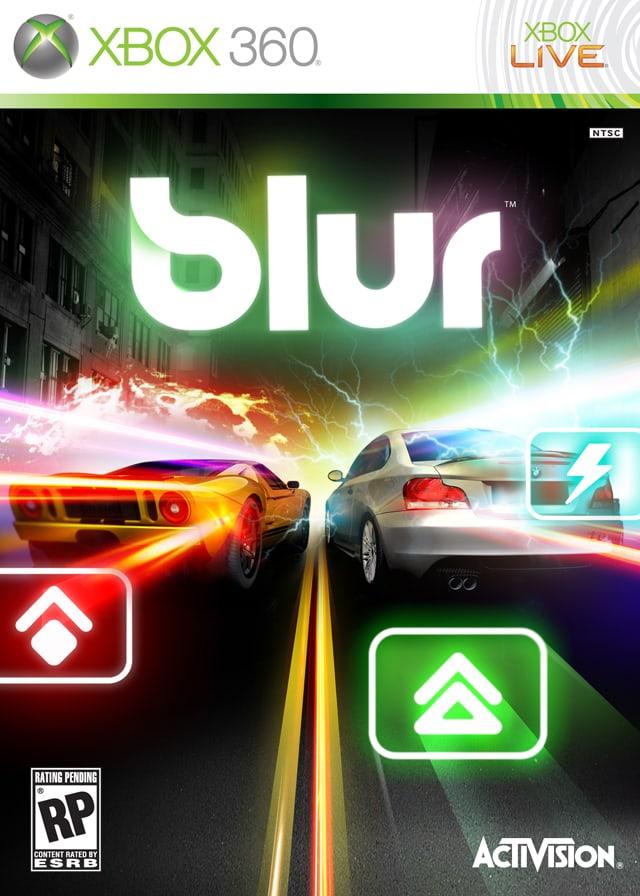 Xbox 360   Blur   TRANSFER 2019