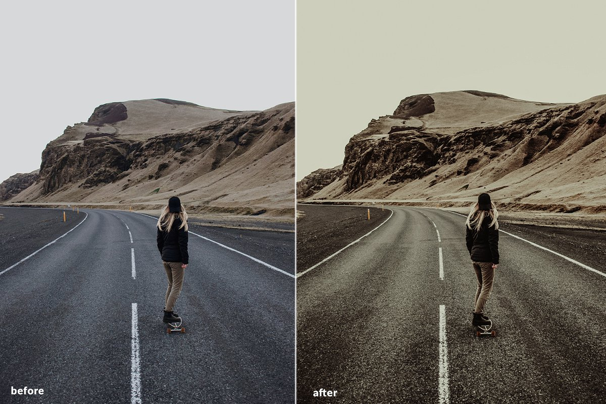 7 Road trip LR mobile presets 2019