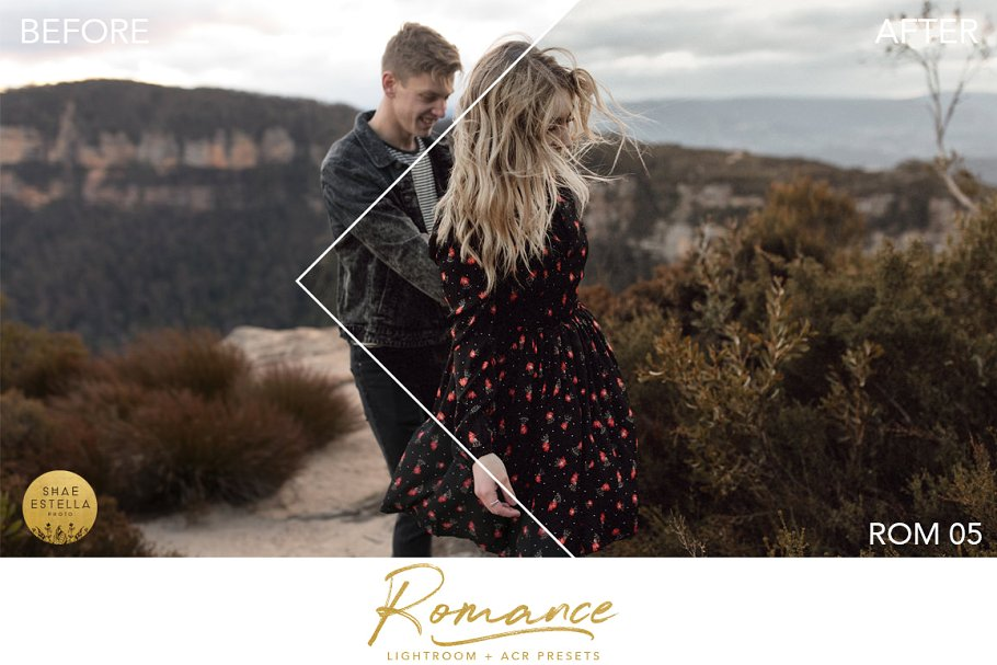 The Romance Collection LR ACR wedding presets 2019
